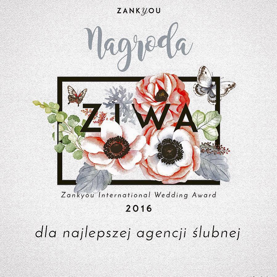 ZIWA 2016 – NAJLEPSZY WEDDING PLANNER WARSZAWA